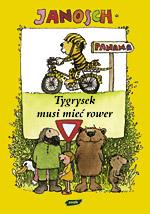Tygrysek musi mie� rower